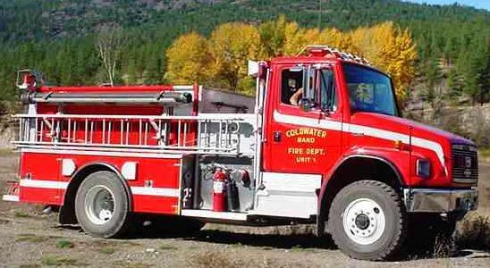 Coldwater Band Fire Department Unit 1 - Pumper Truck